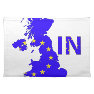 "BREXIT ""IN"" UNION JACK PLACEMAT"