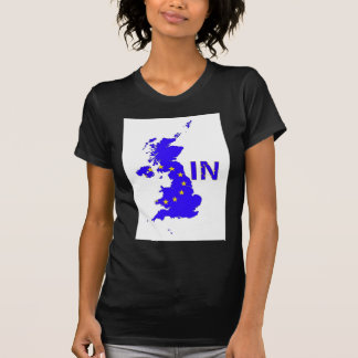 "BREXIT ""IN"" UNION JACK T-Shirt"