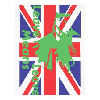 brexit letterhead