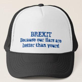 Brexit Lies Trucker Hat