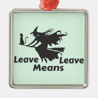 brexit metal ornament