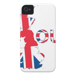 BREXIT OUT UNION JACK Case-Mate iPhone 4 CASES