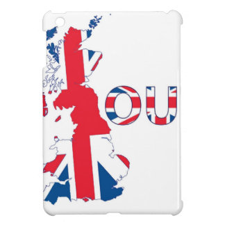 BREXIT OUT UNION JACK iPad MINI COVER