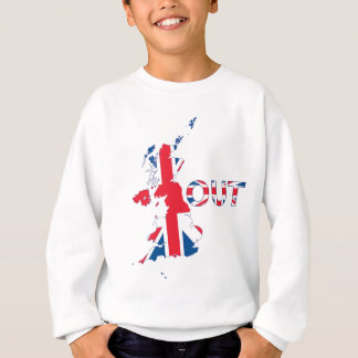 BREXIT OUT UNION JACK SWEATSHIRT