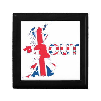 BREXIT OUT UNION JACK TRINKET BOXES