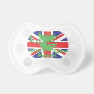brexit pacifier