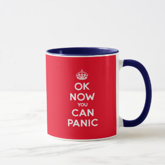 Brexit Panic Funny Keep Calm Mug