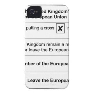 Brexit referendum in UK iPhone 4 Cases