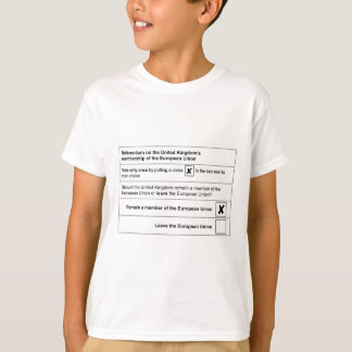 Brexit referendum in UK T-Shirt