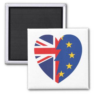 Brexit Square Magnet