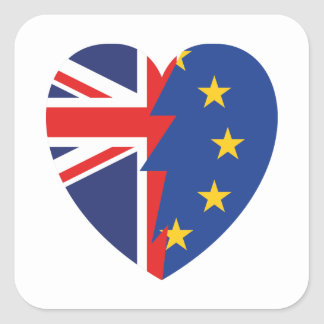Brexit Square Sticker