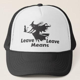brexit trucker hat