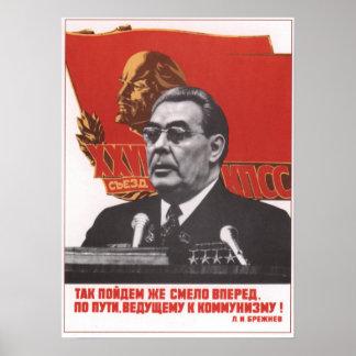 Brezhnev Poster