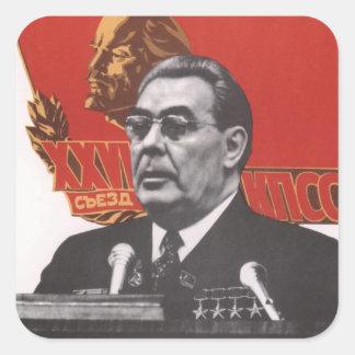 Brezhnev Square Sticker