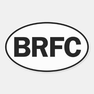 BRFC Oval ID Oval Sticker