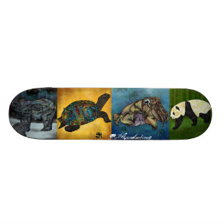 BRGproduction Animals Skateboard Deck