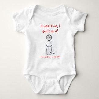 BRI-UK-Mafia, It wasn't me, I didn't do it!, ww... Baby Bodysuit