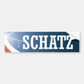 Brian Schatz 2016 Bumper Sticker