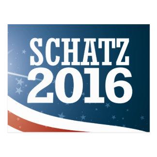 Brian Schatz 2016 Postcard