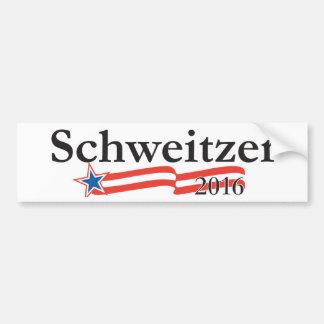 Brian Schweitzer 2016 bumper sticker