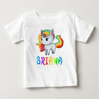 Briana Unicorn Baby T-Shirt