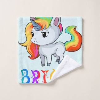 Briana Unicorn Wash Cloth