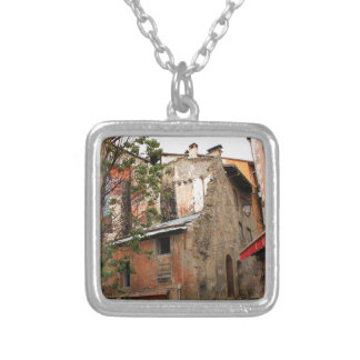 Briancon Silver Plated Necklace