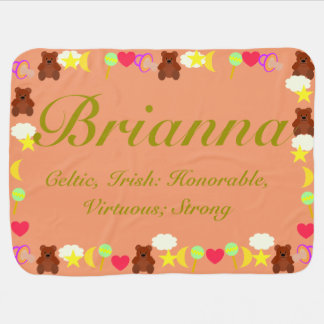 Brianna Baby Blanket Template