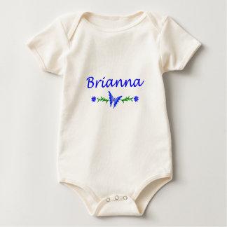 Brianna (Blue Butterfly) Baby Bodysuit
