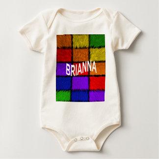 BRIANNA ( female names ) Baby Bodysuit