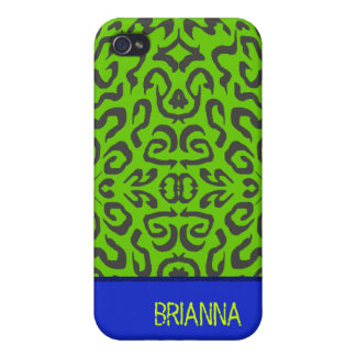 BRIANNA Personalized Pattern Iphone 4 Case
