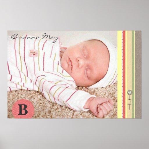 Brianna peut copie de naissance poster