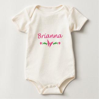 Brianna (Pink Butterfly) Baby Bodysuit