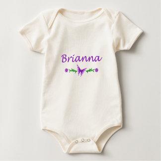 Brianna (Purple Butterfly) Baby Bodysuit