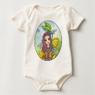 Brianna's Dragonflies Baby Bodysuit