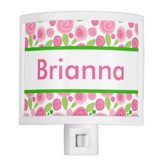Brianna's Personalized Rose Nightlight Night Light