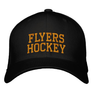 BRIANS CURSE SUPPORTS FLYERS HOCKEY EMBROIDERED HAT