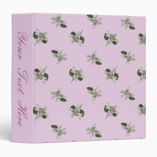 Briar Patch/Pastel Orchid 3 Ring Binder