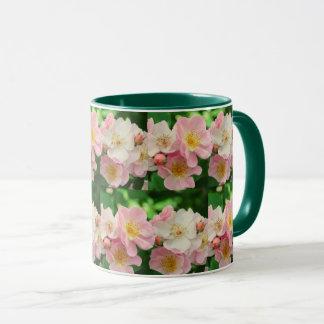 Briar Roses Floral Mug