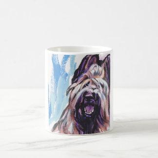 Briard Dog fun bright pop art Coffee Mug