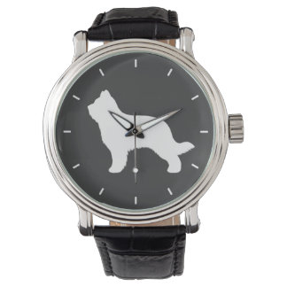 Briard Dog Silhouette Watch