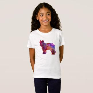 Briard in watercolor T-Shirt