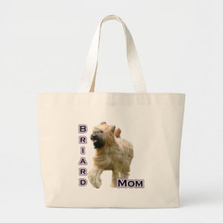 Briard Mom 4 Jumbo Tote Bag