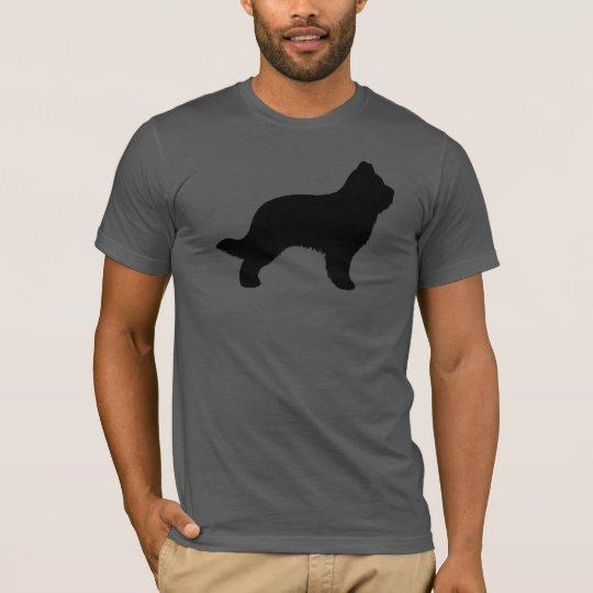 Briard Silhouette T-Shirt