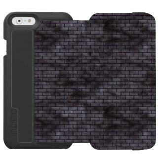 BRICK1 BLACK MARBLE & BLACK WATERCOLOR (R) INCIPIO WATSON™ iPhone 6 WALLET CASE