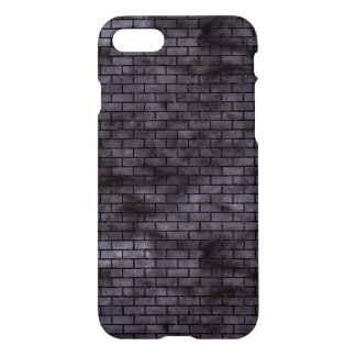 BRICK1 BLACK MARBLE & BLACK WATERCOLOR (R) iPhone 8/7 CASE