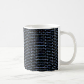 BRICK1 BLACK MARBLE & BLUE DENIM COFFEE MUG