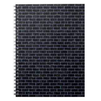 BRICK1 BLACK MARBLE & BLUE DENIM NOTEBOOKS