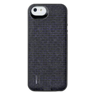 BRICK1 BLACK MARBLE & BLUE LEATHER iPhone SE/5/5s BATTERY CASE