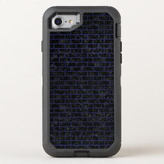 BRICK1 BLACK MARBLE & BLUE LEATHER OtterBox DEFENDER iPhone 8/7 CASE
